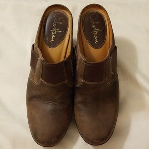 Cole Haan Nike Air Brown Mules size 7.5